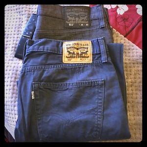 Men's Levi's 36 x 30 Jeans Bundle